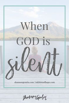 When God is silent, He is simply working on our behalf the most. Christian Living, Christian Faith, Christian Women, Christian Quotes, Waiting On God, Spiritual Growth, Spiritual Practices, Christian Encouragement, Spiritual Encouragement