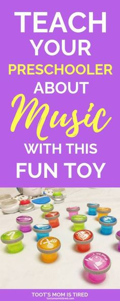 Are you looking for a fun way to teach your preschooler about music? Your little one can learn all about instruments and music with this fun toy! Teach Your Preschooler about Music with This Fun Toy Educational Toys For Preschoolers, Educational Baby Toys, Toddler Learning Activities, Indoor Activities For Kids, Montessori Toddler, Parenting Toddlers, Learning Toys, Toddler Toys, Preschool Activities