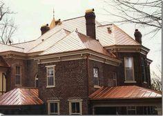 Copper roof ornametal's