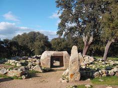 tomba II  Parco Archeologico Pranu Mutteddu  Goni (CA)