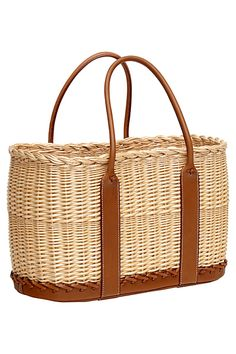 Fiber bags on Pinterest | Wicker, Straw Bag and Baskets