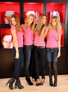 - Marisa Miller, Image Blog, Anja Rubik, Behati Prinsloo, Doutzen Kroes, Daisy Dukes, Victoria Secret Angels, Alessandra Ambrosio, The Secret