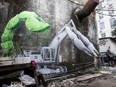 « ScorpioBulldo » en Chine par Ludo | StreetArtNews 2017