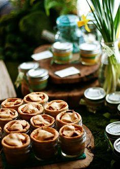 Apple pie in jars (and lemon curd, too!) by the boastful baker, via Flickr