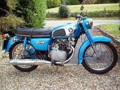 Honda CD 175 My first motorcycle!    Circa 1974