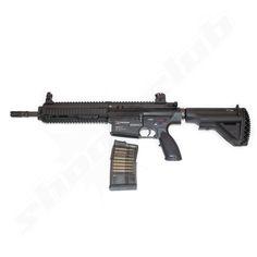 H&K HK417D V2 S-AEG Softair Gewehr Kal. 6mm - max. 1J   #shootclub #airsoft #softair