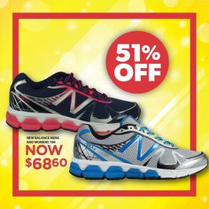 NEW BALANCE MENS AND WOMENS 780's are 51% OFF! Get into the Sportspower Warrnambool's UP TO 51% OFF EVERYTHING SALE before SUNDAY 4pm to pick up this bargain!  #sportspowerwarrnambool #sportspower #massivesale #upto51percent #sale #sports #sportswear #51percent #warrnambool #shop3280 #asics #adidas #newbalance #nike #runningbare #lornajane #saucony #brooks #skechers #converse #everlast #bodyworx #garmin #gilbert #graynicolls #madison #skins #2xu by sportspower_warrnambool