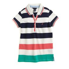 31f708f88b5 Kids  Fashion 2014 · Girls  Multistripe Polo Shirt - Candy-colored stripes  make this polo a must-