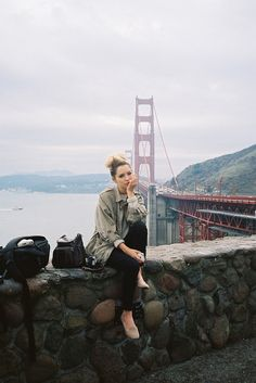 golden gate bridge san francisco hipster