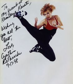 Cynthia Rothrock is an American martial artist and actress specializing in martial arts films.