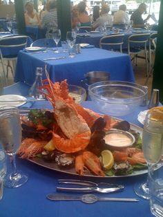 Doyle's at Watson Bay, Sydney - Cold Seafood Platter and Champagne