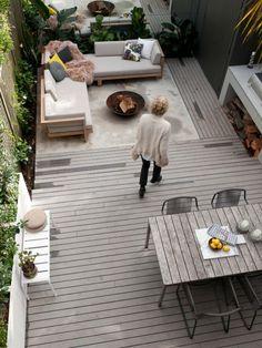 idée de construction de terrasse en bois