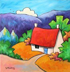 Bracken Cottage by Gillian Mowbray