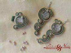 Nice soutache earrings