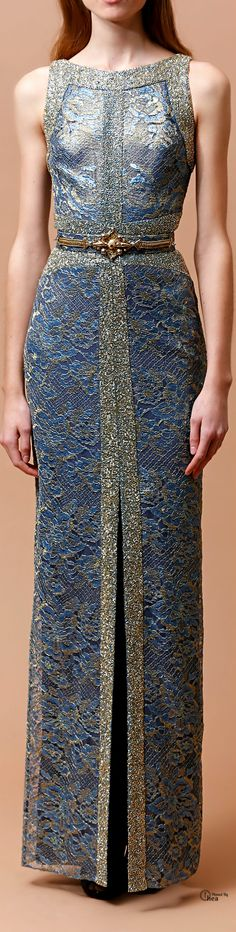 Badgley Mischka ● Pre-Fall 2014 glamour gown