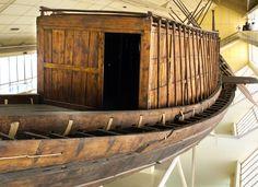 The main cabin of the Khufu ship.