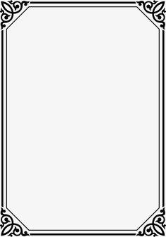 Black line frame, Black, Line, Frame PNG Image Frame Border Design, Page Borders Design, Borders For Paper, Borders And Frames, Wedding Invitation Posters, Celtic Border, Certificate Background, Wedding Borders, Doodle Frames