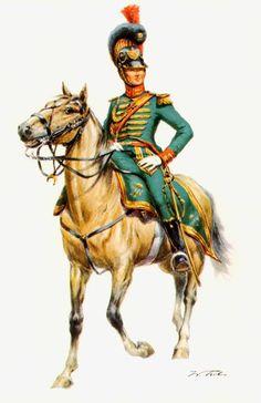 Ufficiale dei cavalleggeri del regno di Westfalia - Wolfgang Tritt