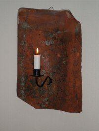 Egen tillverkad tegellampett 250kr Brick chandeleir  WWW.tibbleantik.com