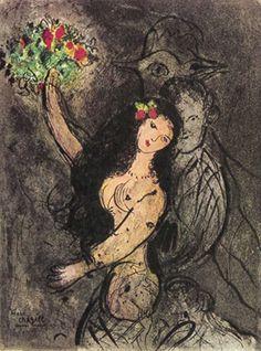 Marc Chagall - Soiree, 1963