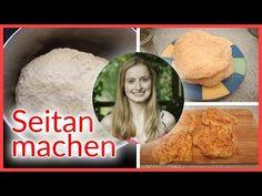 Seitan Rezept — Genial + günstig Seitan selber machen aus Mehl — Rezept vegan - YouTube
