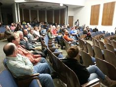 Audience during Smoke Signals Q&A w/ Gary Farmer, Irene Bedard and Chris Eyre