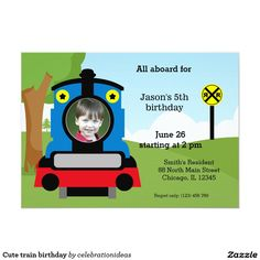 Sold #Cute #train #birthday #kids Available in different products. Check more at www.zazzle.com/celebrationideas