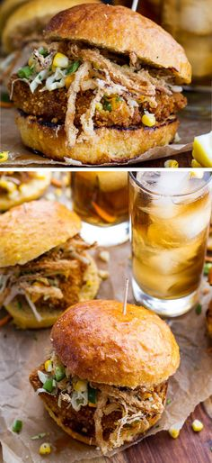Oven-Fried Chicken Sliders | 18 Easy Barbecue Food Ideas for Summer | Tasty BBQ Ideas Party Food Side Dishes