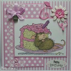 House-Mouse Birthday Card