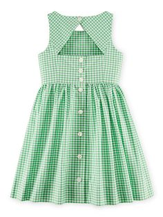 Gingham Dress - Girls 2-6X Dresses & Skirts - RalphLauren.com