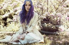 Chloe Melissa Nørgaard photographed last summer. Make Up by Kim Weber / Hair by Liz Lazo / Styling by Kat Banas. Lara Jade photography