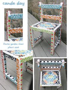 Fiestaware Garden Chair by Cande Day Till