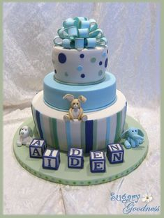 https://flic.kr/p/66ev4A | Samantha's Baby Shower Cake | This was for my daughter's baby shower.