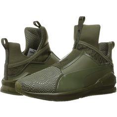 9dfda715de3 PUMA Fierce KRM (Burnt Olive Puma Black) Women s Shoes ( 110) ❤