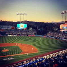 THINK BLUE: Dodger Stadium Baby  #firsttimeatdodgerstadium #dodgersvsgiants #divisionrivals #STKTOLA #nextimeatthechavezravine  by big_nacho