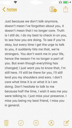 Its Okay Quotes, Deep Quotes About Love, True Quotes, I Miss You Text, I Still Miss You, Bond Quotes, Caption For Friends, Friendship Quotes, Online Friendship