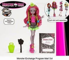 a471d145fe5 Monster Exchange (Coming 2015) - Mari Sol Lake Monsters, Ever After Dolls,