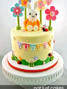 Miffy Cake and Cupcakes for Aubrey
