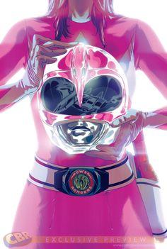 Les Power Rangers font leur retour en comics, chez BOOM! Studios | COMICSBLOG.fr