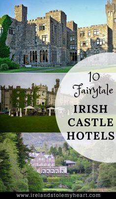 Fairytale Castle Hotels in Ireland #irelandtravel