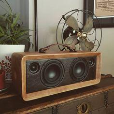 Thats the spot. Portable Speakers, Diy Speakers, Dayton Audio, Hifi Audio, Vintage Diy, Boombox, Arcade, Bluetooth, Cherry