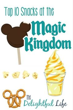 Top 10 Magic Kingdom Snacks • Delightful Life