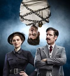 Watch two promos and meet the characters of the Houdini & Doyle TV show drama, coming to  FOX in May. Do you plan to tune in?
