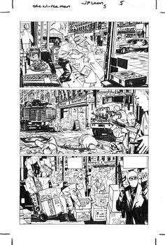 The Winter Men, Inks, Issue 5, pg.5