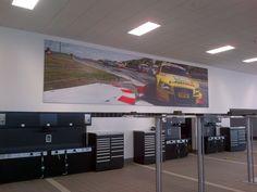 Audi Service garage