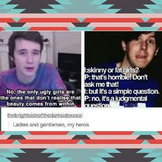 youtubers | I love this so much aw dan and phil are so sweet