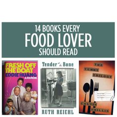 14 Books Every Food Lover Should Read