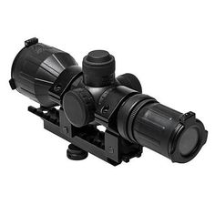 AR Carry Handle 3-9x42mm Compact Scope Combo, Black