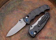 Benchmade Knives: 484-1 - Nakamura - Carbon Fiber - CPM-S90V