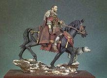 General Romano a caballo 180 D.C.